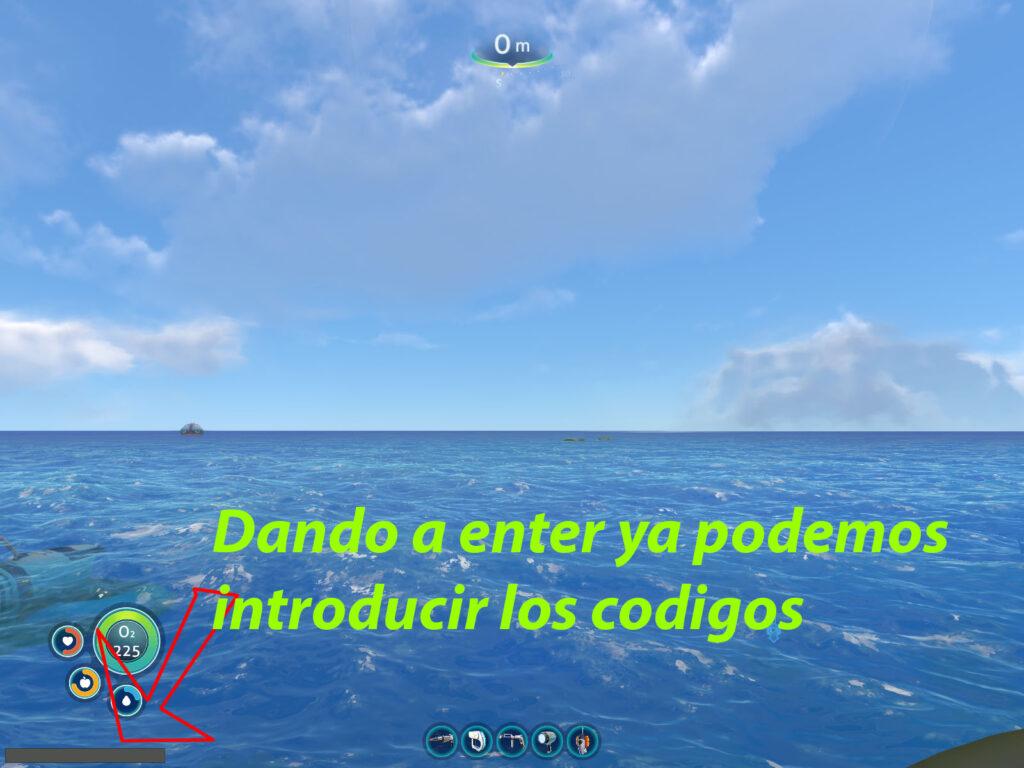 como se activa la consola de comandos de subnautica
