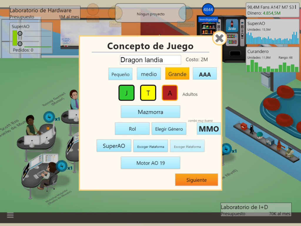 game dev tycoon, game dev tycoon juego perfecto