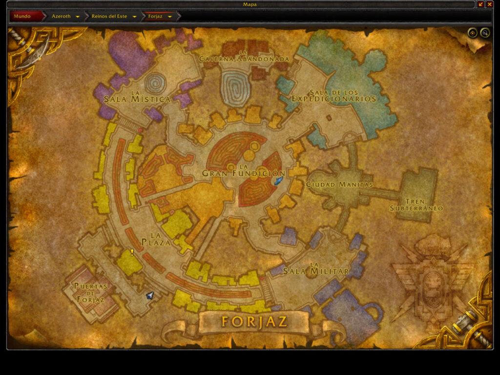 world of warcraft forjaz,world of warcraft ironforge map,world of warcraft ironforge,world of warcraft classic ironforge map,world of warcraft classic ironforge