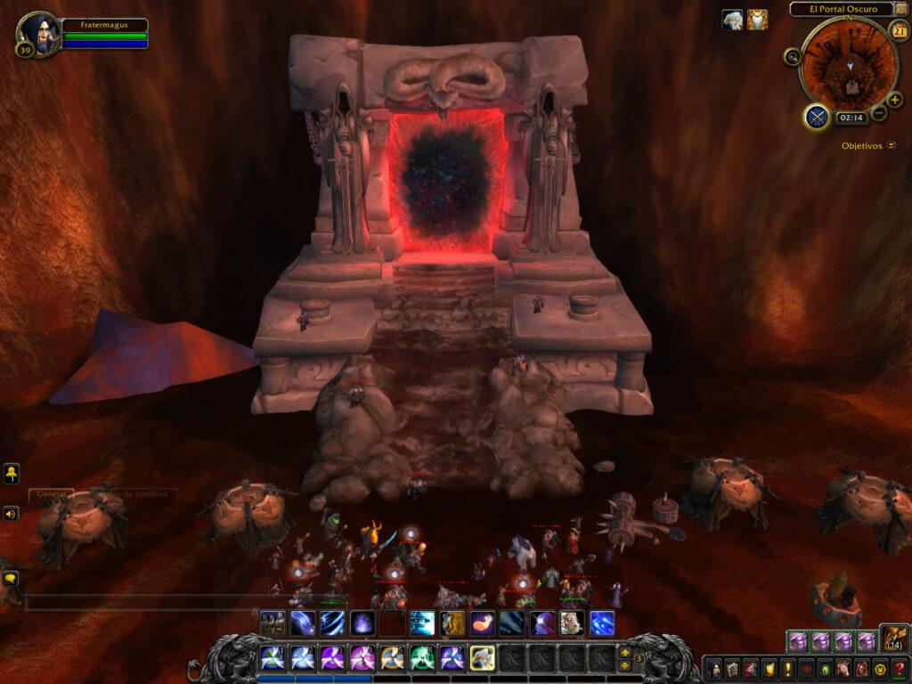 el portal oscuro wow,a traves del portal oscuro wow,como llegar al portal oscuro wow,donde esta el portal oscuro wow