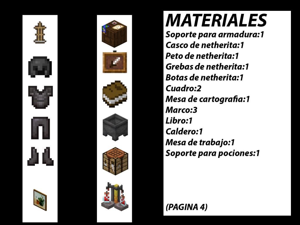 materiales para hacer casa en minecraft