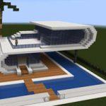 como hacer una casa moderna en minecraft,como hacer una casa playera en minecraft,casa minecraft playa