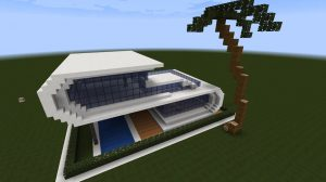 como hacer una casa de verano en minecraft,como hacer una casa de vacaciones en minecraft
